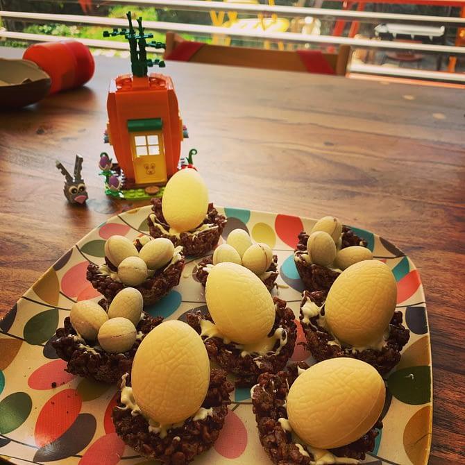 Et hop, on a un dessert de saison :) #miam #paques #easter