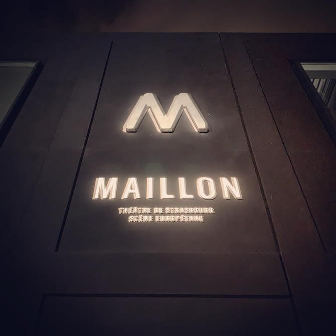 Première soirée au Maillon #theatre #strasbourg