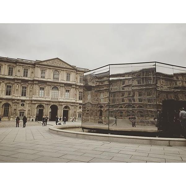 Panorama - Eva Jospin #art #installation #louvre #paris