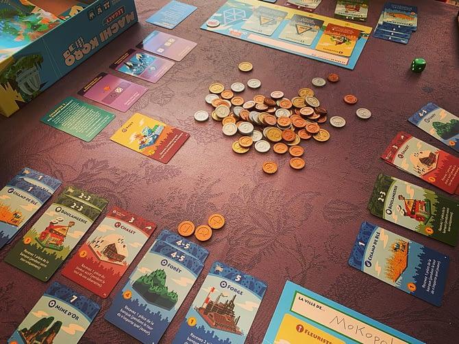 Machi Koro  Legacy #jeuxdesociété #boardgames