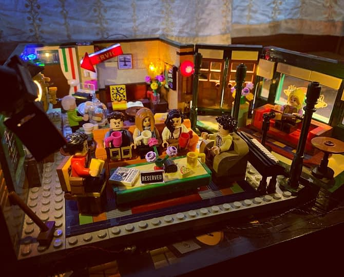 Central Perk #friends #lego
