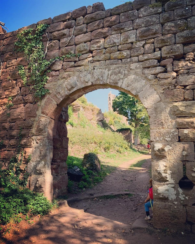 Encore une rando, au château de Guirbaden cette semaine 😎