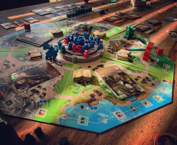 Vicomtes du royaume de l'ouest #boardgames