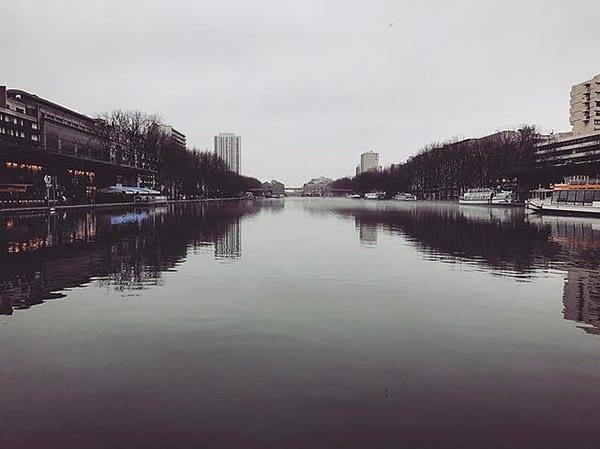 Après la glace, le brouillard #Villette #paris #parismaville #parisjetaime