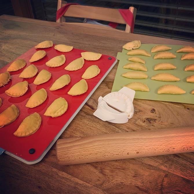 Mes premiers raviolis #miam