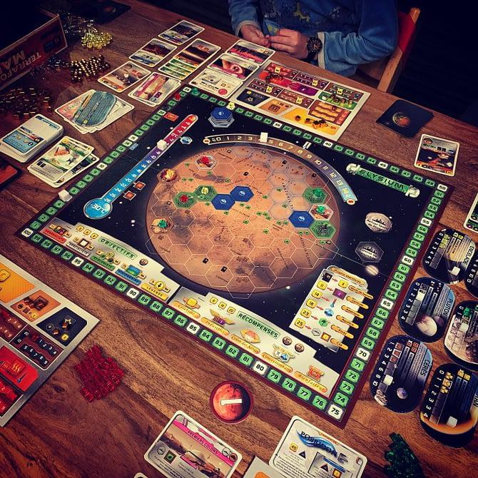 Ce soir, on a colonisé Mars (mais pas que) #boardgames #terraformingmars
