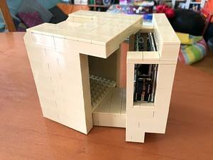 Raspberry Pi déguisé en Macintosh Classic en Lego