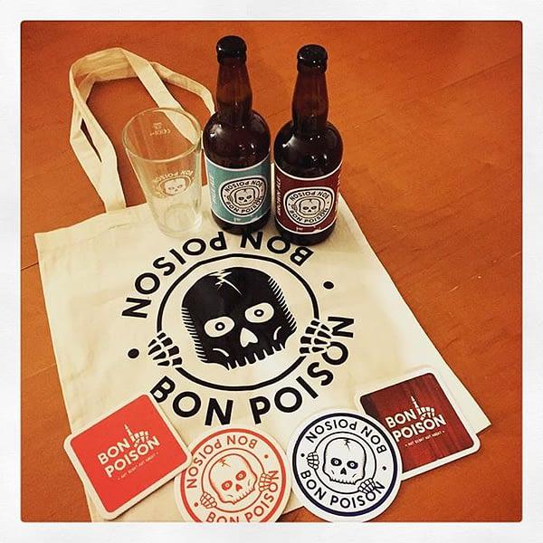 Ouuaaaiiiss j'ai reçu mes bières @bonpoison !!! #bière #metz #maisPasAmos